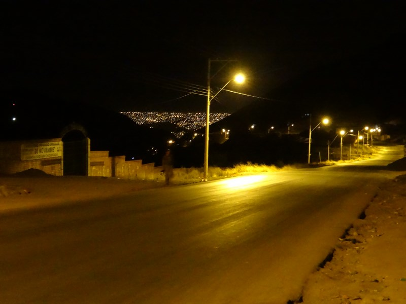 43. La Paz by night