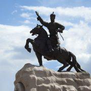 13. Statuie Ulaan Bataar