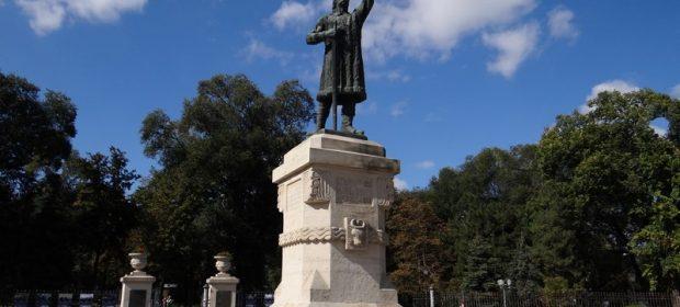 17. Statuia Lui Stefan Cel Mare Chisinau Basarabia