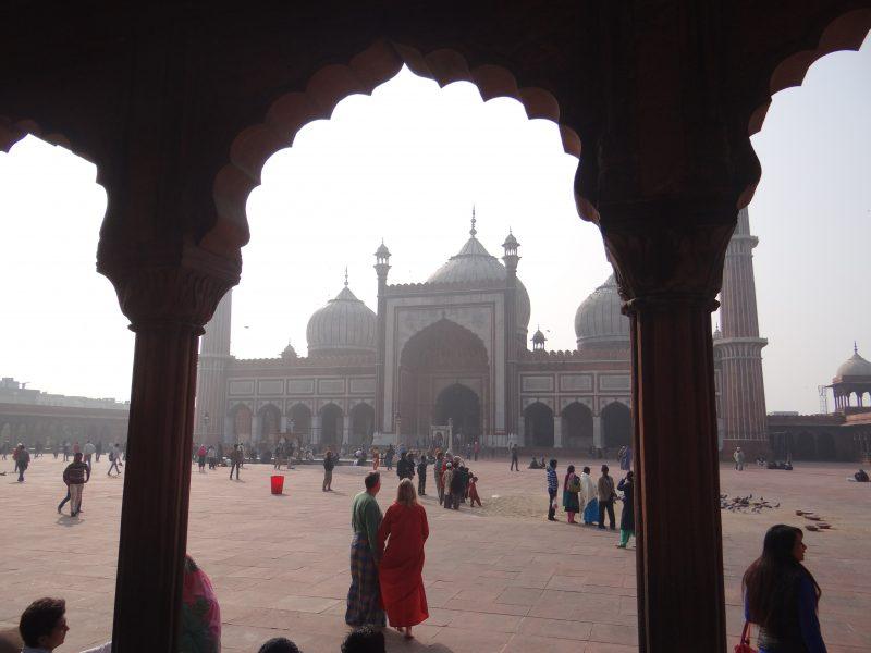 03. Moschee Delhi