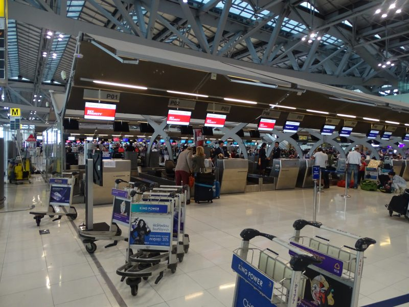 23. Sky Priority check in Bangkok