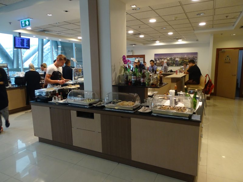 28. Air France lounge Bangkok
