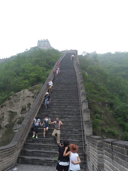 04 Urcat scari - Marele Zid Chinezesc