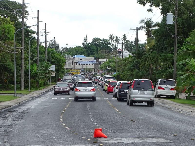 07. Trafic jam Koror - Palau