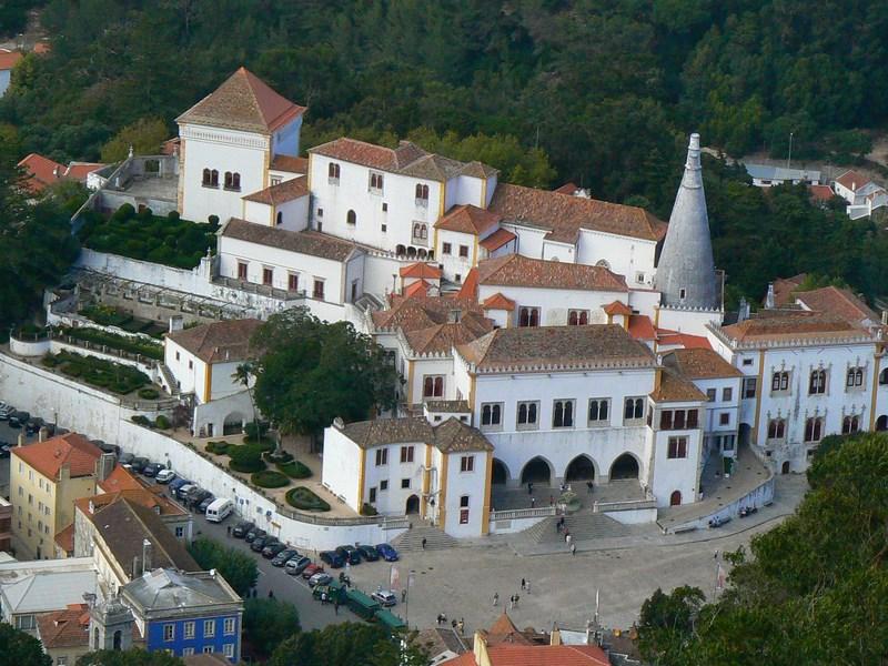 12. Palat Sintra - Portugalia