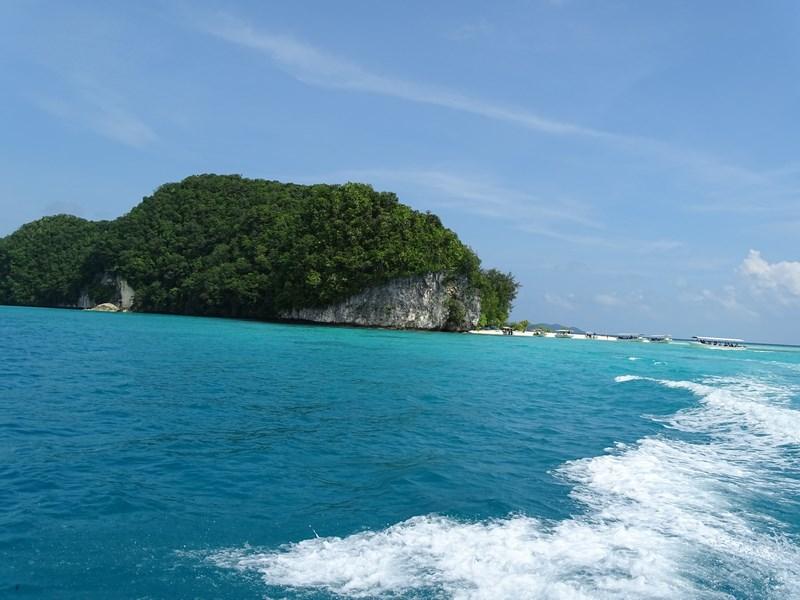 24. Palau island hopping