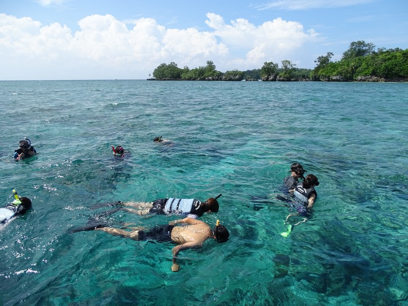 25. Palau snorkeling
