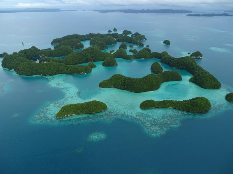 36. 70 islands