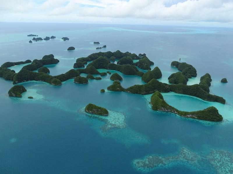 37. 70 islands Palau