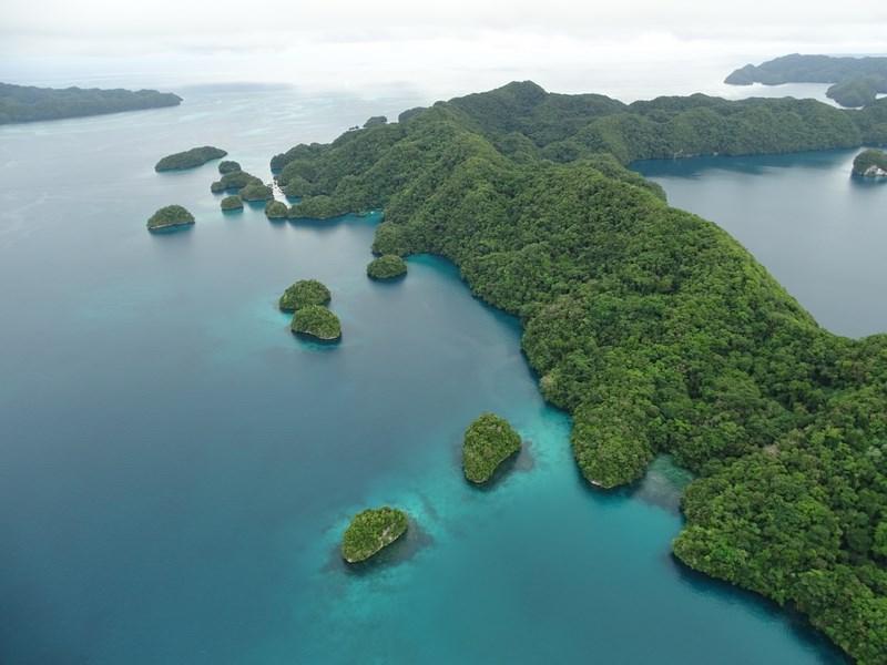 40. Scenic flight Palau