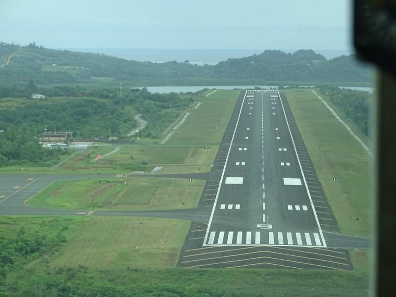 46. Landing Koror