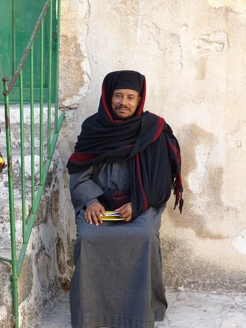 02, Calugar etiopian Ierusalim