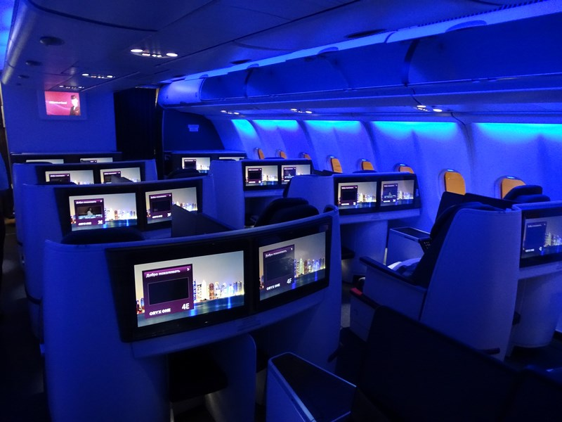 06. Qatar Airways Business Class A330