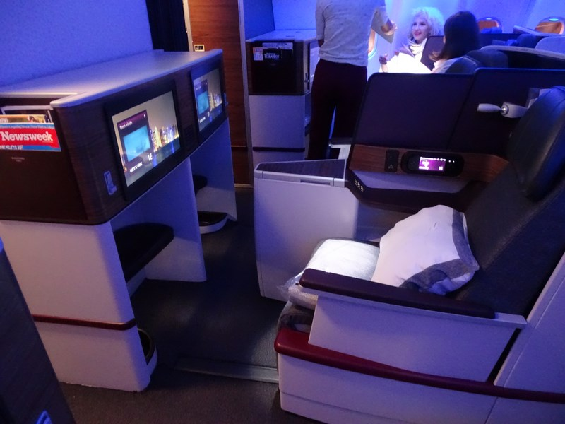 08. Scaune business class - Qatar Airways