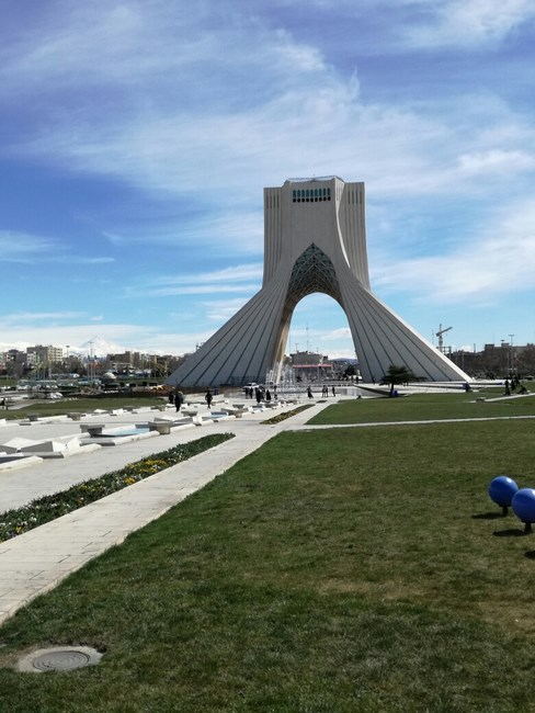 14. Azadi Tower - Teheran