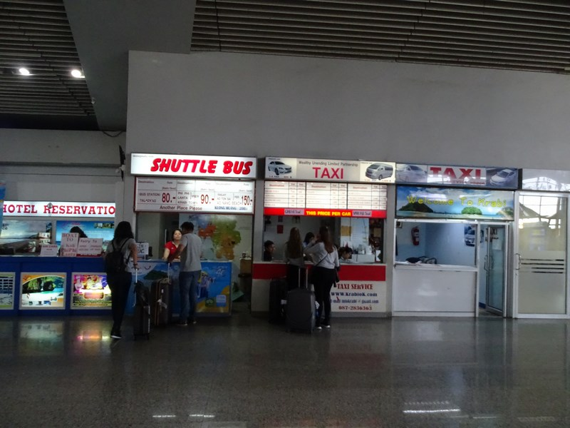 19. Shuttle Krabi airport