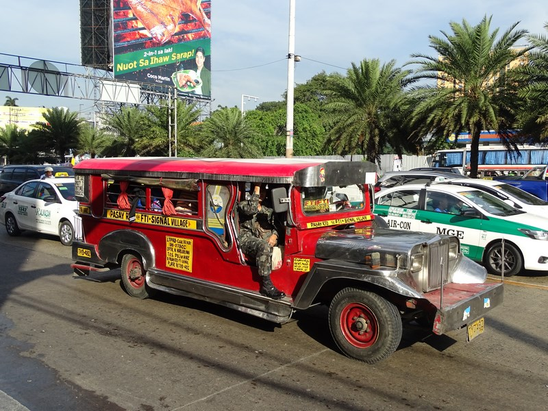 36. Jeepney in Manila
