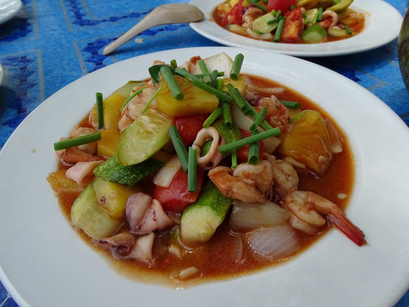 37. Thai sea food