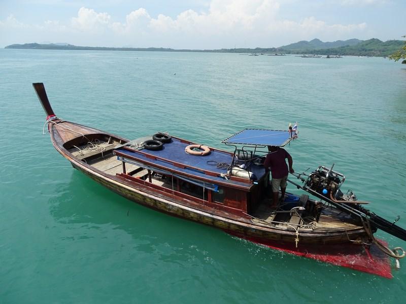 40. Long tail boat Koh Yao Noi