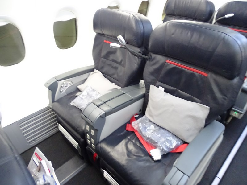 02. Turkish Airlines business class