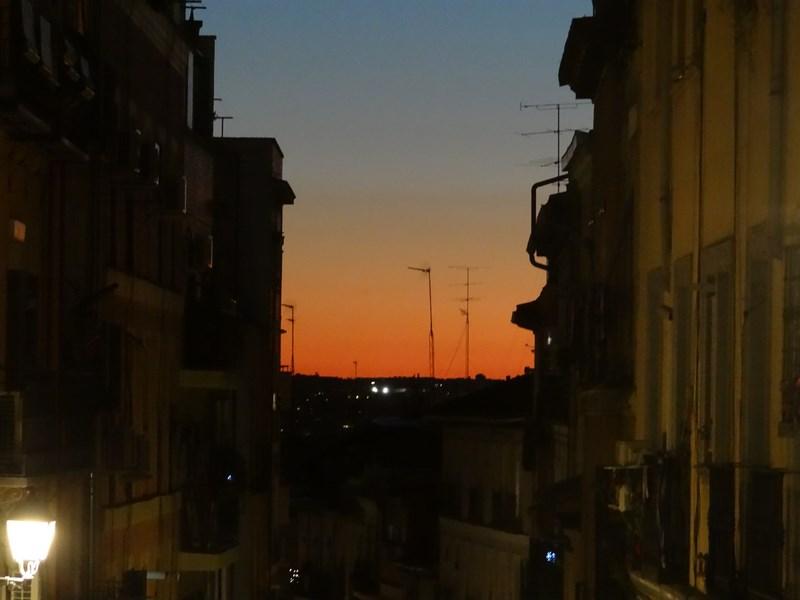 05. Apus de soare in Madrid