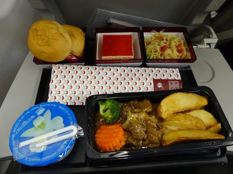 07. Mancare Qatar Airways