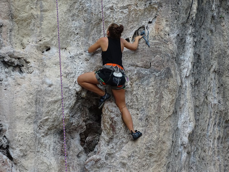 20. Nude climbing