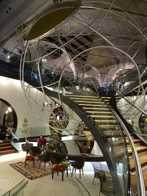 21. Turkish Airlines lounge - Istanbul airport