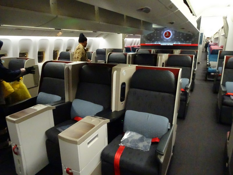 22. Business class Turkish Airlines - B777