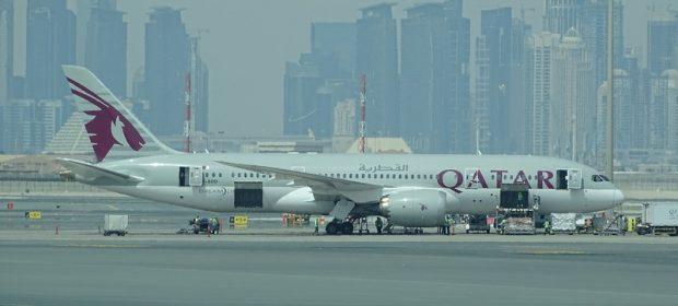 22. Qatar Airways Dreamliner