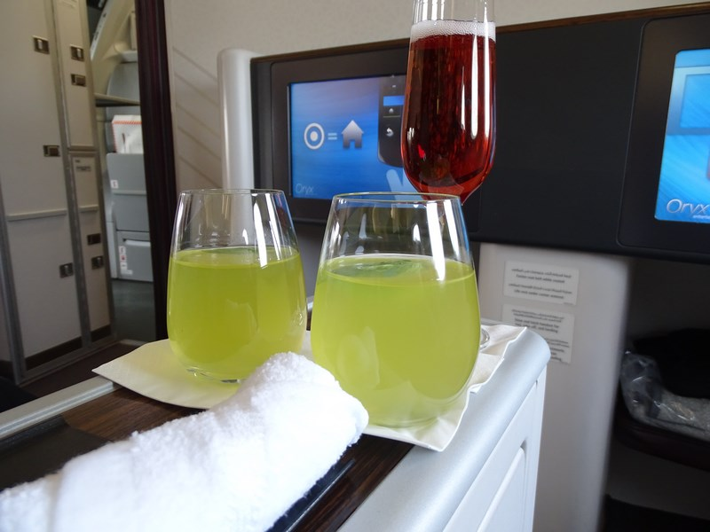 27. Qatar Airways juice