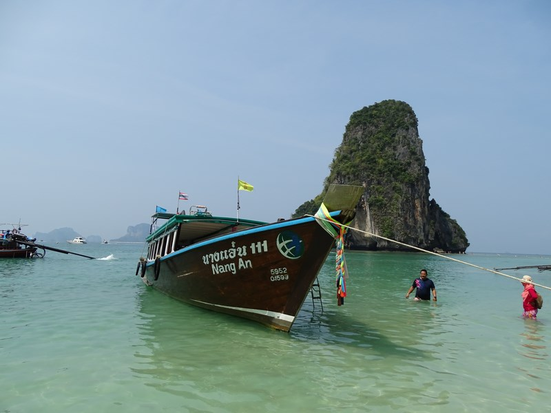 29. Long tail boat Railay