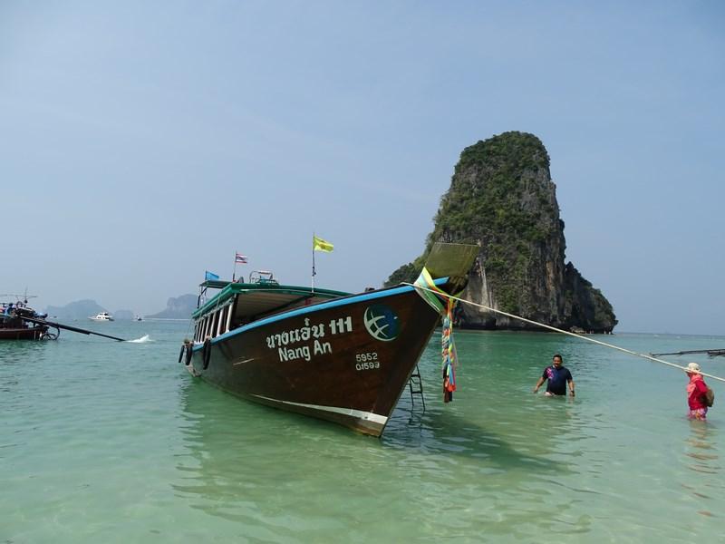29. Long tail boat Railay