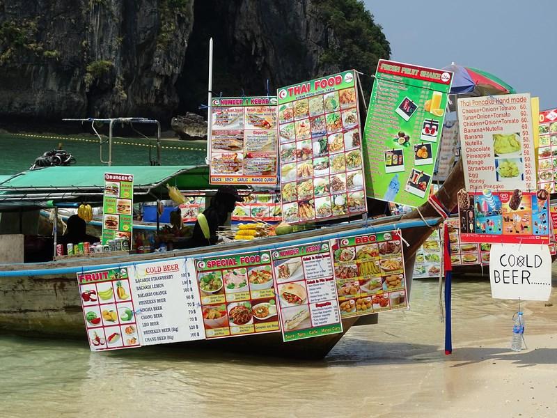 30. Food boat