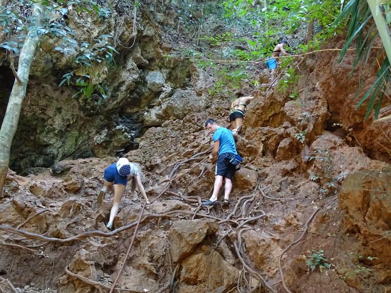 35. Railay climb - Secret Lagoon