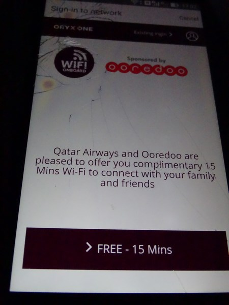 36. Internet - Qatar Airways