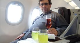 45. Qatar Airways Business Class A321