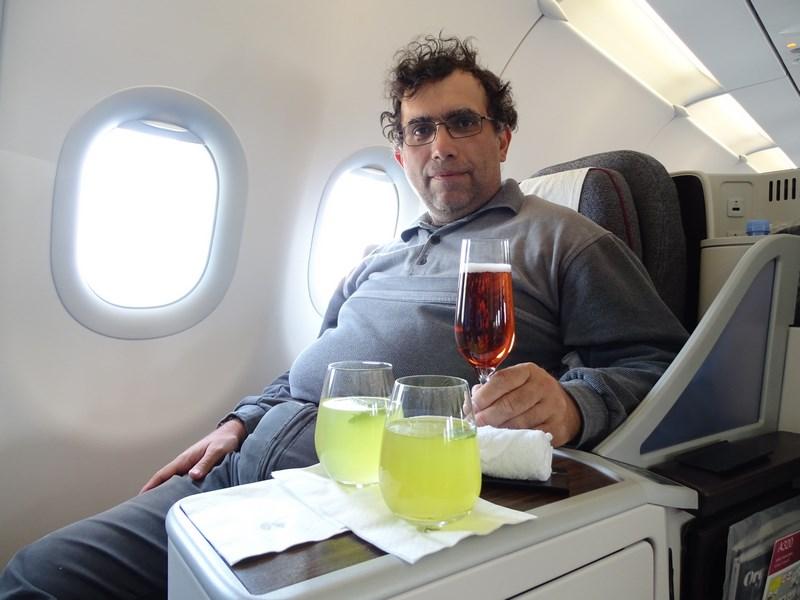 45. Qatar Airways - business class A321