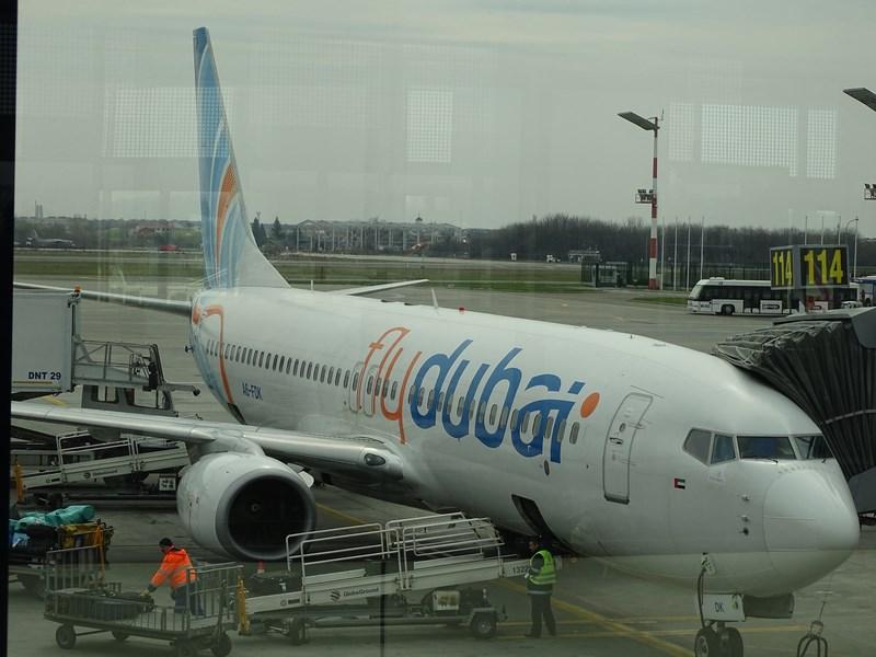 01. Fly Dubai Bucuresti - Dubai