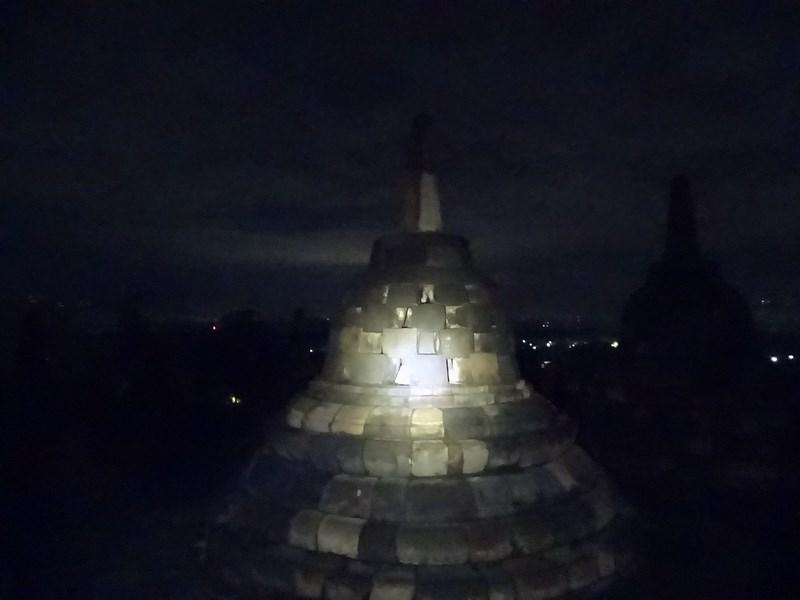 02. Borobudur by night
