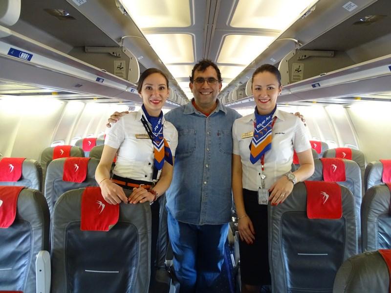11. Stewardeze Blue Air