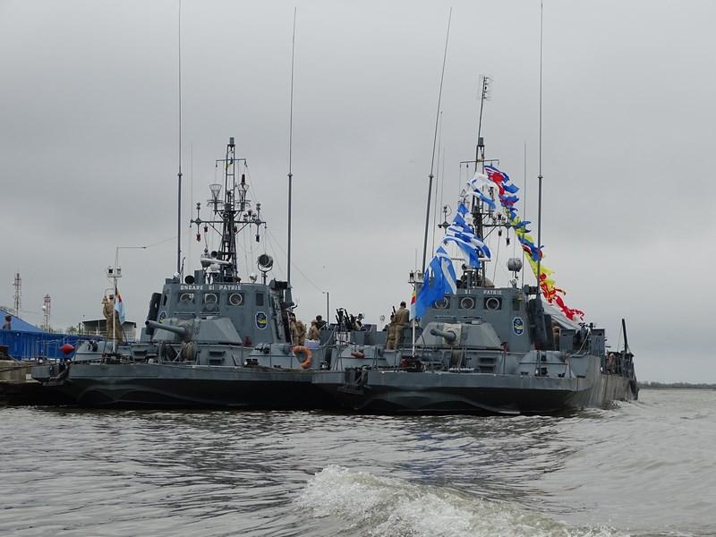 17, Flota de Dunare
