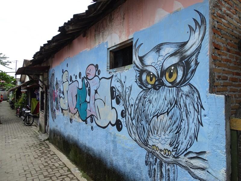 20. Grafitti in Yogyakarta