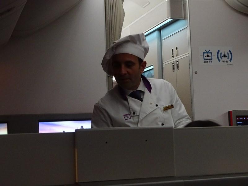 22. Chef on board