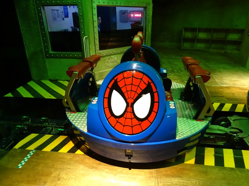 28. Spiderman ride - IMG