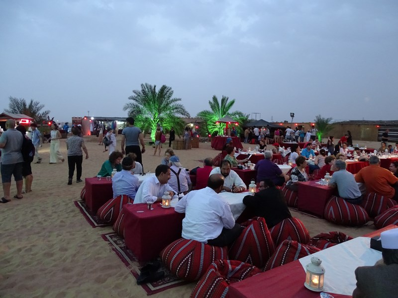 51. Desert camp - Dubai