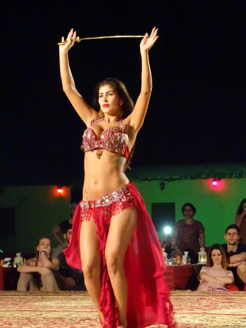 56. Belly dancer