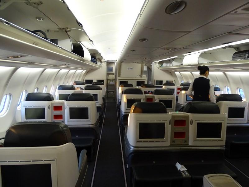 65. A330 TK business class
