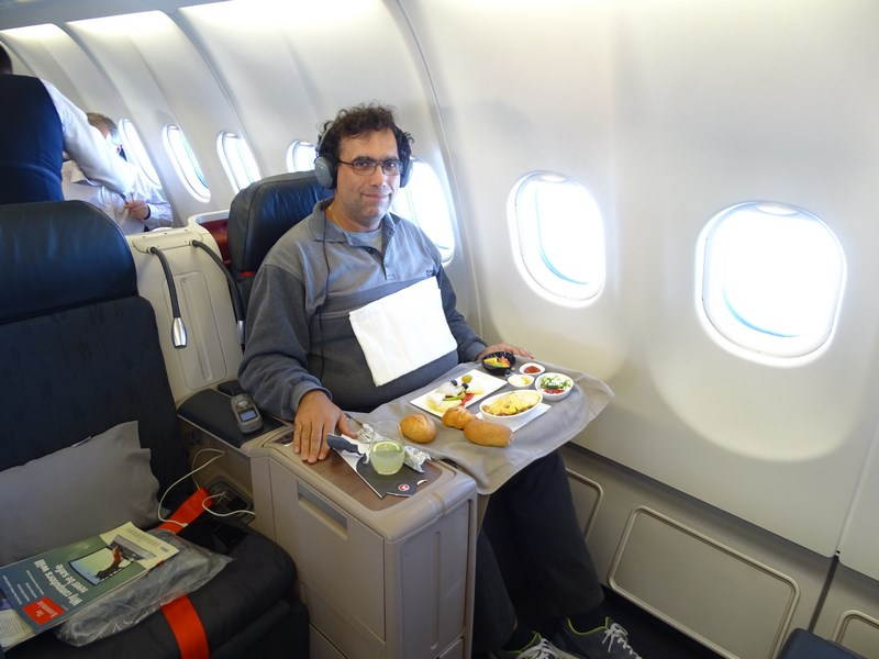 73. Turkish Airlines business class