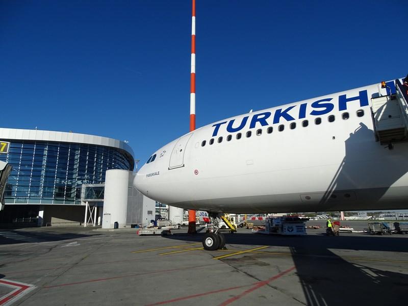 76. Turkish Airlines - Bucharest airport